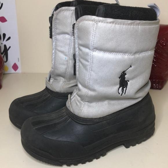 Polo Ralph Lauren unisex kids size 1 winter boots